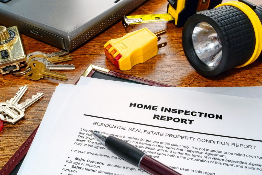 Builder's one year warrant inspection